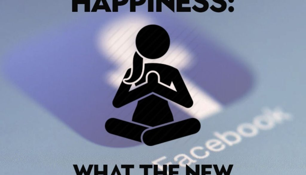 Facebook pursues happiness